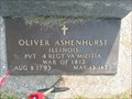 Image for Pvt. Oliver Ashenhurst ~ Viola, Illinois