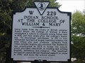 Image for Indian School at the College of William & Mary