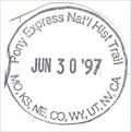 Image for Pony Express National Historic Trail-MO,KS,NE,CO,WY,UT,NV,CA - Harrison, NE