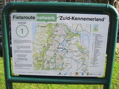 01 - Overveen - NL - Fietsroutenetwerk Zuid-Kennemerland