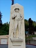 Image for John Mullan Statue - Mullan, ID