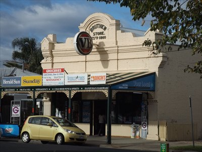 Another view of the Local Grocery Store in Bruthen - East Gippsland, Victoria. 0940, Thursday, 12 May, 2016