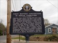 Image for FIRST Baptist Convention in Indian Territory - Tahlequah, OK