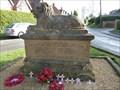 Image for War Memorial - Naseby, Northamptonshire