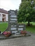 Image for Combined World War Memorial - Vresovice, Czech Republic