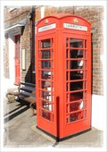 Image for Red Telephone Box - High Street, Littlebourne, Kent, UK.