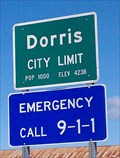 Image for Dorris, CA - Pop 1000