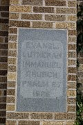 Image for 1928 - Immanuel Evangelical Lutheran Church - Pflugerville TX
