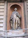 Image for Carl Linnaeus Statue - Royal Academy, Burlington Gardens, London, UK