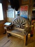 Image for Wagon Wheel Chair - Pahaska Tepee Gift Shop - Golden, CO