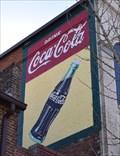 Image for Coca Cola Wall Mural, Main Street, Salisbury, NC, USA