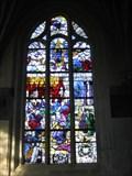 Image for Vitraux du XVIe siècle - l'église Saint Acceul, Ecouen - France