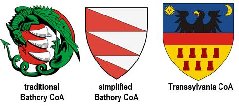 Bathory on Transsylvania CoA - Holy Trinity Church / Kostol