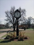 Image for Frisco Park clock - Amory, MS.
