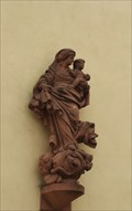 Image for Virgin Mary with infant Jesus at Johannesstraße 10, Speyer - RLP / Germany