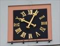 Image for The clock on the church - Chlum svaté Márí, CZ