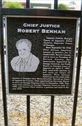 Image for Chief Justice Robert Benham - Cartersville, GA