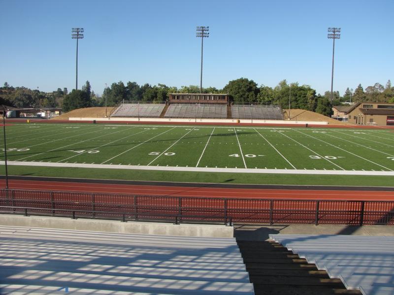 Center of Stadium Stands