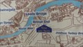 """Image for Bridge End Then and Now """"You Are Map"""" – Leeds, UK"""