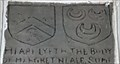 Image for Neale / Bateman coats of arms - St James - Sutton Cheney, Leicestershire