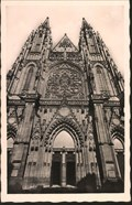 Image for St. Vitus Cathedral (west portal) - Prague, Czech Republic