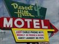 Image for Historic Route 66 - Desert Hills Motel - Tulsa, Oklahoma, USA.