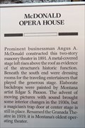 Image for McDonald Opera House - Philipsburg, MT