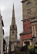 Image for St Alkmund's - Medieval Spire - Shrewsbury, Shropshire, UK