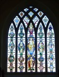 Image for Stained Glass - St Mary the Virgin, Welwyn, Herts, UK.