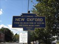 Image for New Oxford Blue Marker - New Oxford, PA