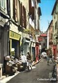 Image for La rue Grande et la porte de la Saunerie - Manosque, France