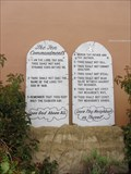 Image for Ten Commandments - Our Lady of Pillar - Half Moon Bay, CA