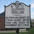Image for Culpeper's Rebellion, A-21