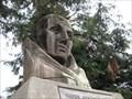 Image for Padre Junipero Serra Wooden Bust - San Mateo, CA