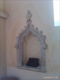 Image for Piscinas & Holy Water Stoup, All Saints - Hitcham, Suffolk