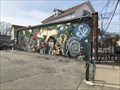 Image for Musical mural by VESPIA at E and O Tap - Providence, Rhode Island