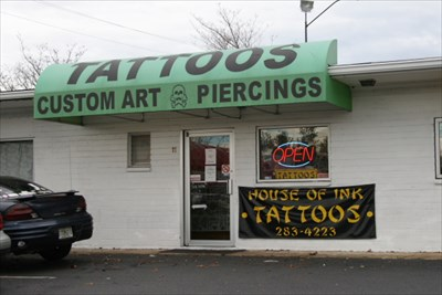 House of ink tattoo shop johnson city tennessee for Tattoo shops in tennessee