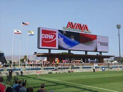Avaya Scoreboard, San Jose, California
