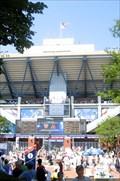Image for Arthur Ashe Stadium, BJK National Tennis Center, New York