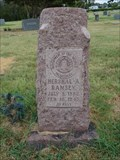 Image for Hershal A. Ramsey - Sowers Cemetery - Irving, TX