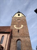 Image for Sonnenuhr an der St. Laurentius Kirche Großgründlach, Bayern, Germany