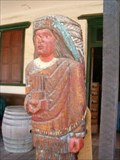 Image for Racine & Laramie Cigar Store Indian, San Diego, CA