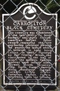 Image for Carrollton Black Cemetery - Carrollton, TX