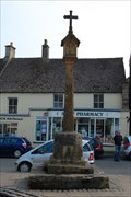 Image for Medieval Cross, Market Sq., Stow-on-the-Wold, Gloucestershire, UK