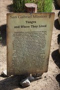 Image for Tongva and Where They Lived -- San Gabriel Archangel Mission, San Gabriel CA