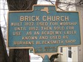 Image for Brick Church