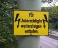 Image for Weitersteigen verboten - Muttenz, BL, Switzerland
