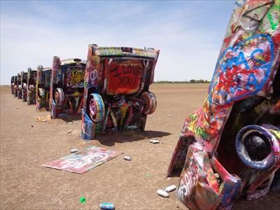 veritas vita visited Ranch Dressing - Cadillac Ranch - Amarillo, TX