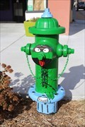 Image for Oscar the Grouch Hydrant - Ardmore, OK