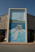 Image for Wharf No. 2 Mural  -  Monterey, California